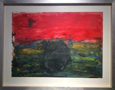 "#IranianPainters Untitled By Shahroo Kheradmand 2015 Style: Abstract Expressionism Genre: Abstract Medium: Acrylic on Cardboard Dimensions: 75*55 cm Location: Between Two Curtains Painting Exhibition, A Gallery, Tehran, Iran CopyRight: Fair Use بدون عنوان از شهرو خردمند ١٣٩٤ سبك: هيجان نمايي انتزاعي ژانر: انتزاعي تكنيك: اكريليك روي مقوا اندازه اثر: ٥٥*٧٥ سانتيمتر  محل نگهداري اثر: نمايشگاه نقاشي ""ميان دو پرده""، نگارخانه آ، تهران، ايران حق تكثير: استفاده منصفانه"