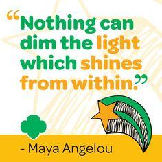 Keep shining! #Inspiration