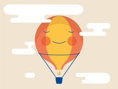 Illo Air Balloon  by Chiara Morra