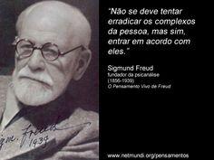 Sigmund_Freud3 S Freud, Psychology Quotes, Psychiatry, Body Language, Powerful Words, Self Esteem, Einstein, Writer, Mindfulness