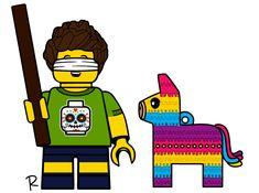 Lego Custom Minifigures, Lego Minifigs, Lego Truck, Lego Boards, Pinata Party, Lego House, Letter B, Cool Lego, Legos