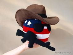The Cowboy USABall with M16