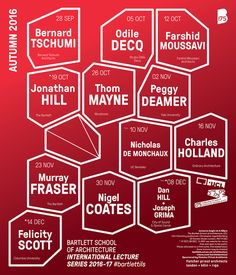 Get Lectured: The Bartlett Fall '16