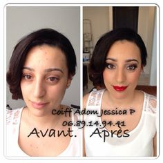 Make Up / coiffure  Avant /Après