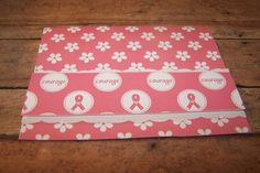Breast Cancer Cards. Pink Ribbon Cards. Cancer by 1OfAKindCrafts