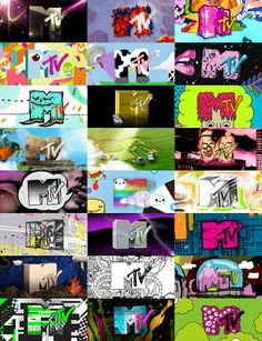 "The MTV logo was created by Manhattan Design, a graphic design collective (Pat Gorman, Frank Olinsky, Patty Rogoff and Fred Seibert). The distinctive ""M"" was actually a sketch by Rogoff. The ""TV"" was spray painted by Olinksky."