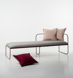 Balcony daybed by product and interior designers Vera Kleppe and Åshild Kyte