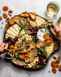 I'll let you in on my secrets on how to make the ultimate pretty-looking cheese board that you'll be proud to post so everyone drools over their phones. Chicken Liver Pate, Chicken Livers, Comida Picnic, Baked Ricotta, Dried Berries, Charcuterie Board, Antipasto, Cravings, Delish