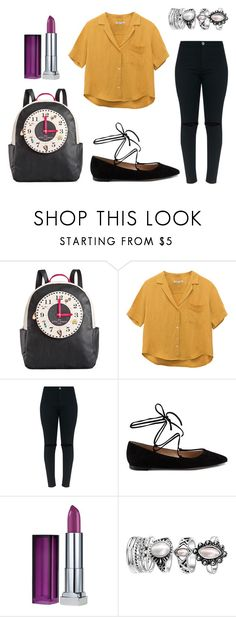 """I don't have time for your foolishness"" by sassyladies ❤ liked on Polyvore featuring Betsey Johnson, Gianvito Rossi and Maybelline"