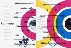 american designer, poster, layout, westvaco, typography, layout, bradbury Thompson