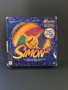 Simon 2 Electronic Game 2000 Toys Hobbies with Box Free Shipping | eBay