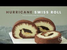 Swiss Roll Cakes, Swiss Cake, Pastry Recipes, Cake Recipes, Dessert Recipes, Japanese Roll Cake, Chocolate Roll Cake, Baked Bakery, Dream Cake