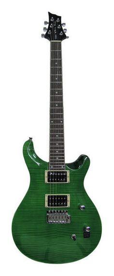Hulk's guitar ;-) Harley Benton CST-24T Emerald Flame - Thomann www.thomann.de #greeen #guitar #gear