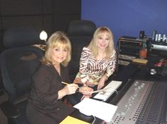 Barbara Mandrell and Christy Sutherland
