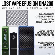 Lost Vape Efusion DNA200 box mod