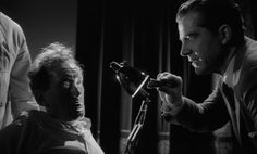 Night of the Demon - The hypnosis scene - a pivotal moment, when Holden's persistent scepticism finally gives way to belief