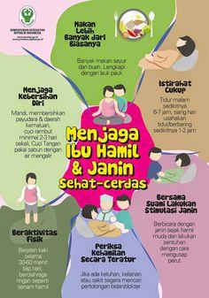 Menjaga Ibu Hamil dan Janin Tetap Sehat ~ Infografis Kesehatan