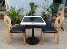 Bàn ghế gỗ tự nhiên Apple