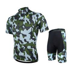 e1e82a2e6 Encontrar Más Jerseys de ciclo Información acerca de Mens ARSUXEO ciclismo  MTB manga corta Jersey de