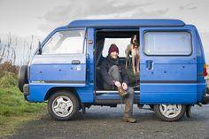 75 DIY RV Camper Van Conversion for Road Trip Vacation - Homemainly Used Camper Vans, Pop Top Camper, Tiny Camper, Cool Campers, Micro Campers, Carros Suzuki, Suzuki Jimny, Toyota Celica, Toyota Supra