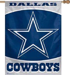 Dallas Cowboys NFL Football Team Logo Yard Garden Hanging Home Yard Banner Flag  #DallasCowboys