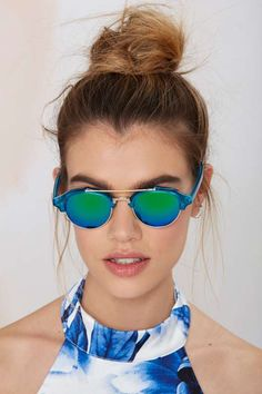 Raddick Blues Shades