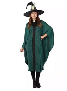 Harry Potter Professor McGonagall Adult Fancy Dress Costume ONE SIZE  Halloween 5054924450828 EBay#McGonagall#