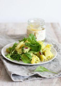 Inkivääri-perunasalaatti