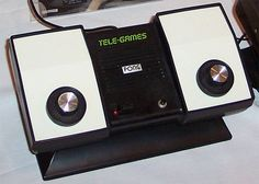 The Original Pong game.  I remember playing my sister at this game for hours.