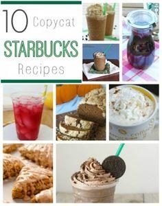10 Copycat Starbucks Recipes