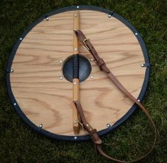Image result for how does a viking shield hang at the back