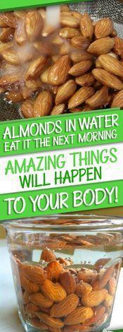 #Almond #Water #Health #Benefits #Food