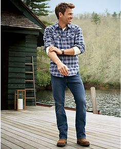Classic Fit Elkhorn® Plaid Shirt | Eddie Bauer