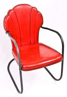 outside chair for ruby - original c. 1940's vintage