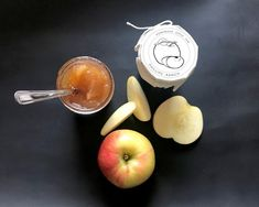 Really love this, from the Etsy shop PhillipsRanchJams. Gourmet Apples, Apple Jam, Fruit Trees, Homemade Gifts, Holiday Gifts, Jelly, Party Favors, Special Occasion, Jar