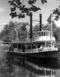 "Steamboat ""Suwanee"" in Greenfield Village - Dearborn, Michigan"