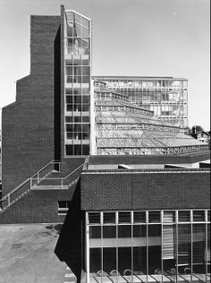 History Faculty, University of Cambridge | 1964-68 | Cambridge, England | James Stirling | photo © James Austin