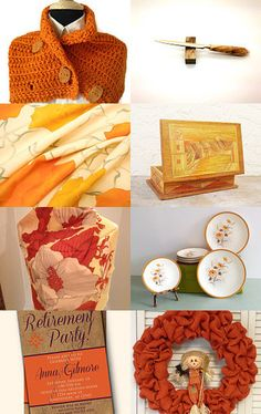 Orange by Anna on Etsy--Pinned with TreasuryPin.com