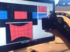 Virtual reality interfaces - Process by Alex Deruette