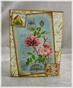 Botanical Tea...for card
