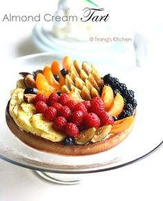 Almond Cream Fruit Tart