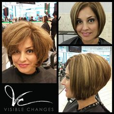 What a classic. We love this clean, voluminous bob by Rachel! Do tell, could you pull off this stylin' short look? Pull Off, Salons, Stylists, Bob, Texas, Hairstyles, Change, Classic, Hair Cuts