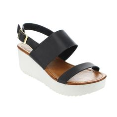 SPIRIT MODA CARLA-1 Women Light Ankle Strap Platform Sandal >>> To view further for this item, visit the image link.