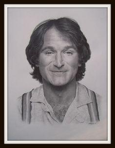 Robin Williams by MA Williams Art