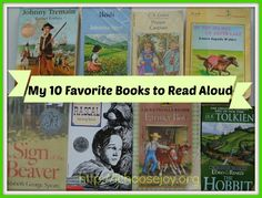 My Top 10 Favorite Books to Read Aloud - I Choose Joy @Gena Mayo