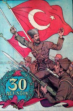 30 AĞUSTOS Turkish Military, Turkish Army, Ottoman Empire, Illustrations, Metropolitan Museum, Wwi, Draco, Spiderman, Religion