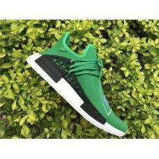 2017 Pharrell x adidas NMD Human Race Groen Schoenen Wit Zwart Nederland  Adidas Running Shoes 3c0cb60938c