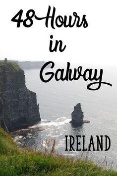 48 Hours In Galway, Ireland #OutdoorTravel