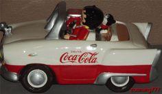 Coca Cola Betty Boop/Car Cookie Jar