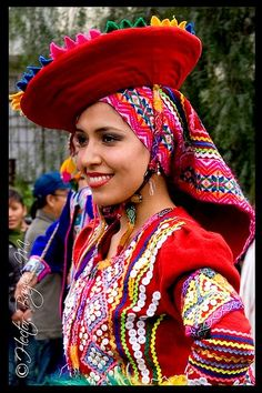 Una Ñusta y es de Cusco, Perú.